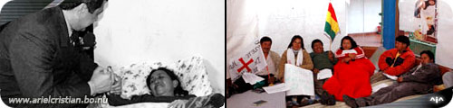 Sucre en huelga de hambre